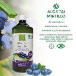 Succo di Aloe Vera da bere con Mirtillo – 3L