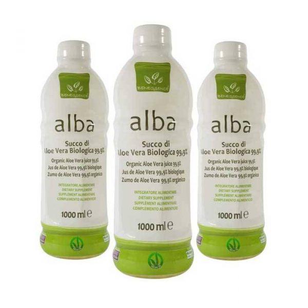 3 litri succo di aloe vera biologica