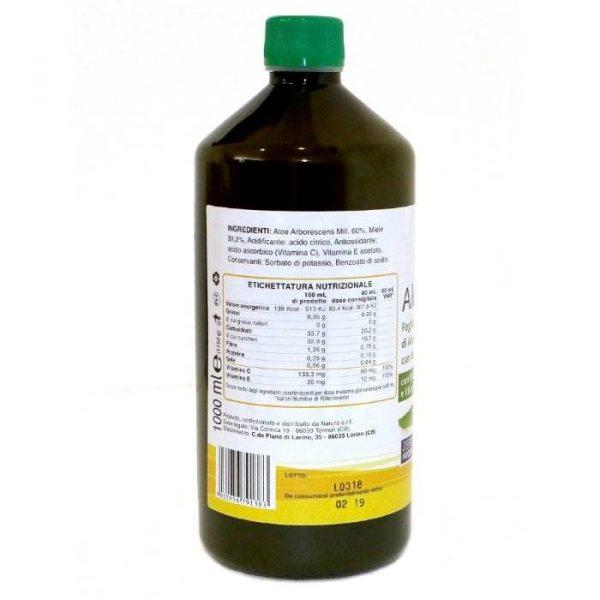 succo di aloe e miele