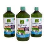 Succo di Aloe Vera 96% con Vitamine C e E + Potassio e Magnesio: Aloe Power Juice – 3L