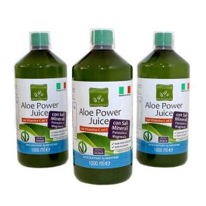 Promo Aloe Power Juice: 3 Succhi Aloe Vera 96%