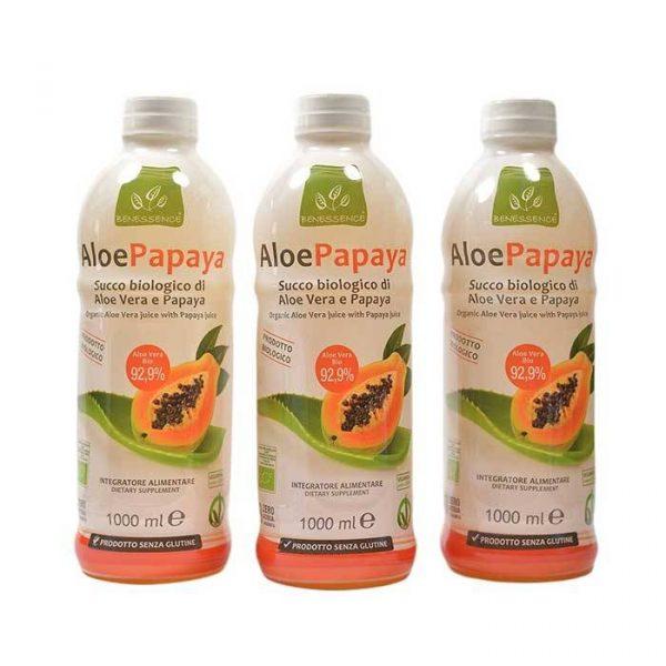 aloe papaya tris