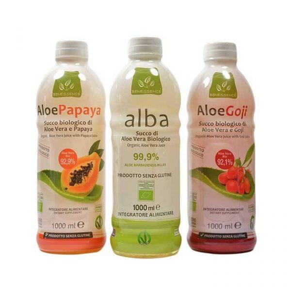 Offerta Aloe Mix Biologici: 3 prodotti