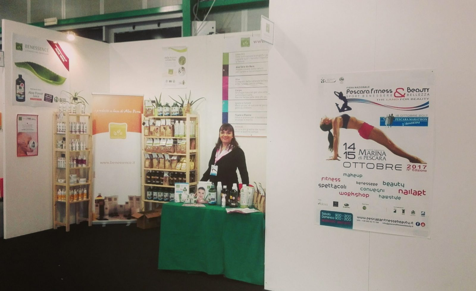 Benessence al Pescara Fitness & Beauty 2017