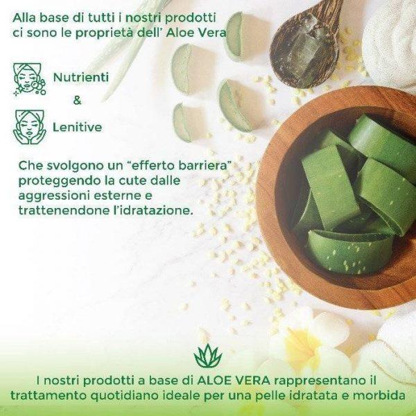 Crema Giorno Bio in Aloe Vera Biologica con Estratti di Amamelide e Acido Ialuronico