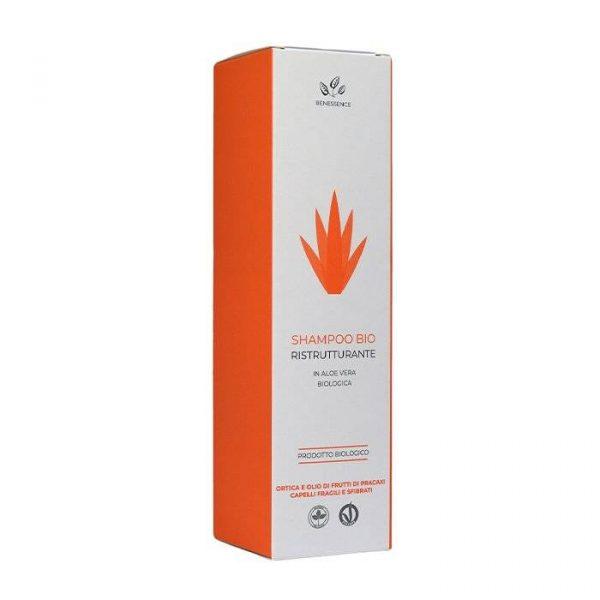 shampoo biologico con aloe vera