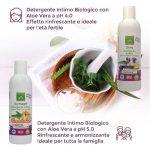 Lieve Detergente Intimo Delicato Biologico con Aloe Vera – 250 ml