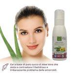 Sollievo Gel Coadiuvante per Emorroidi con Aloe Vera Biologica – 100 ml