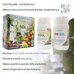 Vera sol – Allontana Insetti Dannosi – uso radicale e fogliare – 250 ml