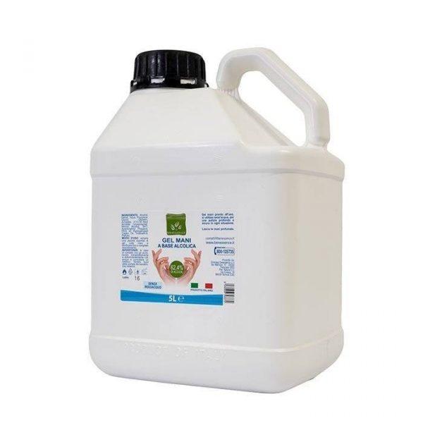 gel igienizzante mani ricarica 5L