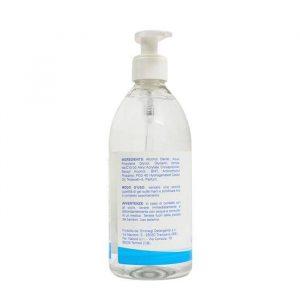 gel igienizzante mani. 500ml