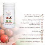 Natural C: Kapseln mit Acerola und Rosa Canina-60 cps