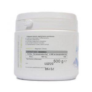 magnesio citrato polvere