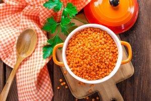 lenticchie rosse ricetta vegan