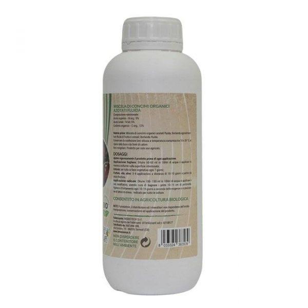 concime vegetale azoto amminoacidi