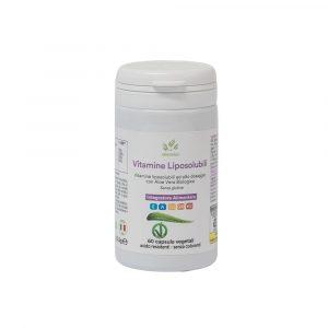 Vitamine Liposolubili, Coenzima Q10 e Aloe Vera – 60 cps